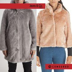 Censura il freddo, non il tuo stile! Scopri tutta la collezione di pellicce firmate Censured da #JeansandCocollezioni  Ti aspettiamo in negozio con un sacco di #saldi 😉