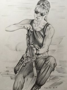 Sarah Connor by Tracey Lawler [©2016]