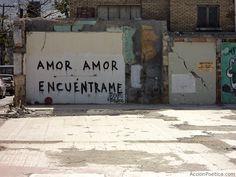 Amor amor encuentrame