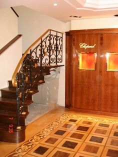 Лестница Chopard