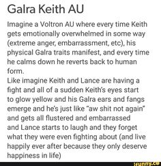 Image result for voltron full galra keith AU