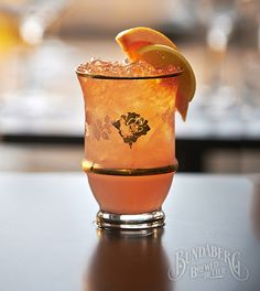 Have you tried the Dames Daily? See what else Bundaberg Brewed Drinks mixologists have been brewing.