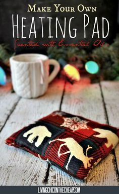 Make Your Own Heating Pad (Scented with Essential Oils) - great diy christmas gift!