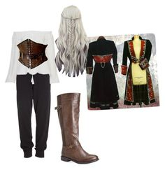 """""""Pirates Princess"""" by sabina996 on Polyvore featuring Donna Karan, Avenue, women's clothing, women, female, woman, misses and juniors"""