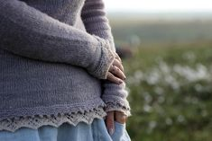 Ravelry: Lauha pattern by Anna Johanna Sweater Knitting Patterns, Hand Knitting, Ravelry, Top Down, Knitting Basics, Romantic Lace, Pullover, Baby Booties, Sweater Weather