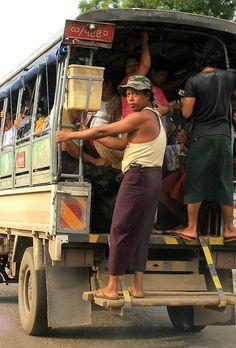 City Bus - Yangon, Myanmar