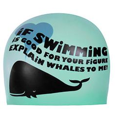 Best. Swim Cap. Ever.