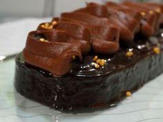 Cake Australia de chocolate para el glaseado son 80ml. de agua.