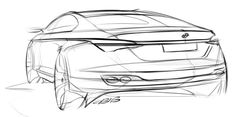 Car design sketches #3
