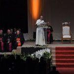 El bien común se busca desde nuestras diferencias, a la Sociedad Civil de Paraguay, Papa Francisco