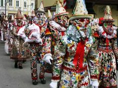 Carnival in Bad Aussee, Austria : Condé Nast Traveler Austria, Christmas Wreaths, Carnival, Clip Art, Holiday Decor, Celebrations, Travel, Recipes, Home Decor