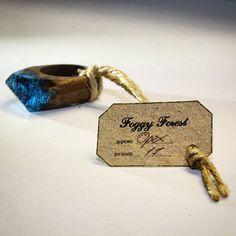 Walnut wooden ring by FOGGY FOREST #wood #foggyforest #ring #кольцо #кольцоиздерева #Воронеж