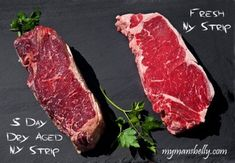 How to Dry Age Your Own Steaks from My Man's Belly
