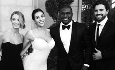 Reggie Bush Married Lilit Avagyan (and Guess Who Was at Their Wedding?)