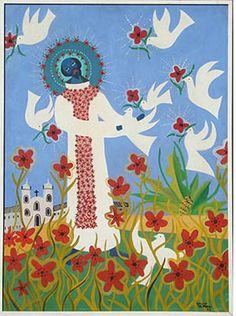 Adelson do Prado. São Francisco de Assis, OST,100x73 cm Francis Of Assisi, St Francis, Popular Art, Arte Popular, Cusco Peru, Prado, Religious Art, Fused Glass, Folk Art