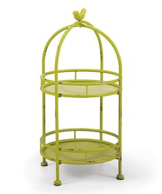 Look what I found on #zulily! Canary Iron Server #zulilyfinds