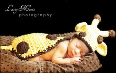 Giraffe hat and Cuddle Critter Cape. $20.00, via Etsy. TOO CUTE!!