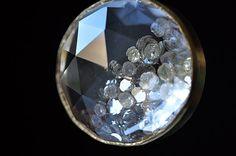 Crystal with Rosecut Diamonds Pendant Top (Tej Kothari)