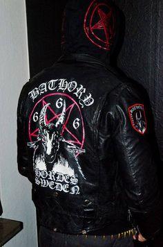 Bathory Battle Leather Jacket