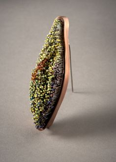 Soohye Park     copper, pins, wood, enamel#Repin By:Pinterest++ for iPad#