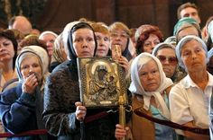 How Russians Survived Militant Atheism To Embrace Christ Again. This brought me to tears. Love live the babushkas!