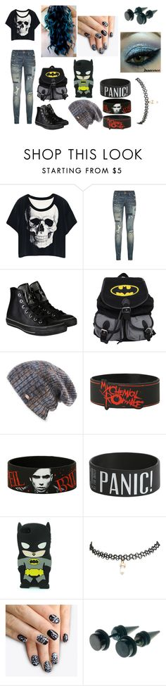 """""""emo"""" by jaclaypool on Polyvore featuring Polo Ralph Lauren, Converse, Spacecraft, Wet Seal and alfa.K"""