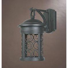 Ellington Oil Rubbed Bronze One Light Dark Sky Outdoor Wall Light Designers Fountain Wall