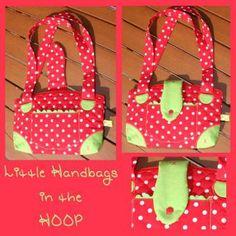 Der Stickbär | Little Handbags ITH