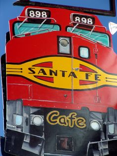 "https://flic.kr/p/5bbq3 | Cafe Sign, Raton, New Mexico | This is the sign for the ""Sante Fe Cafe"" on the street within sight of Raton Depot now used by BNSF & Amtrak."