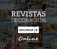 Descarga gratis las últimas publicaciones de revistas de decoración e interiorismo. Lleva la decoración e interiorismo a todas partes en tu Ipad o e-book. #decoración #interiorismo