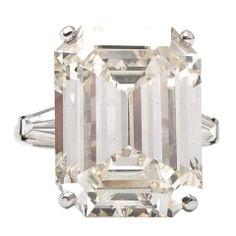 19.68ct Diamond Platinum Engagement Ring