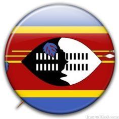 Swaziland flag badge