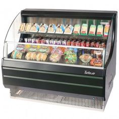 Turbo Air TOM50LBSPA 50 Low Profile Display Merchandiser with Environmental Friendly Refrigeration System Solid Side Panel Standard BackGuard and AntiRust Coating Black Ext and >>> You can find more details by visiting the image link.