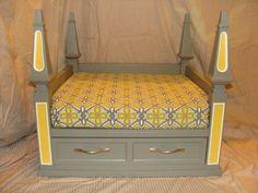 Large Furniture Style Luxury Dog Bed | eBay