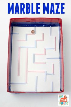 Maze This fun marble maze is great fun for kids. It is easy to make with things that you will have in the house.This fun marble maze is great fun for kids. It is easy to make with things that you will have in the house. Creative Arts And Crafts, Fun Crafts, Crafts For Kids, Stem Projects, Projects For Kids, School Projects, Steam Activities, Activities For Kids, Enrichment Activities