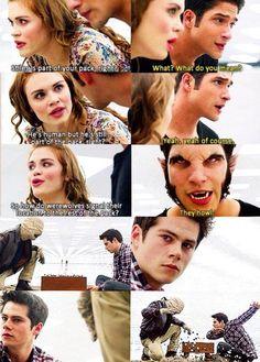 Lydia, Scott et Stiles
