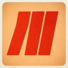 So much for the thin lines. Lasted all of 18 hours. Here's a little stacker from the long gone Midstate Airlines. From Wisconsin. So simple but conveys just the right amount of movement. Take that Continental. #thicklines #wisconsinism #deadthings #newlife by draplin