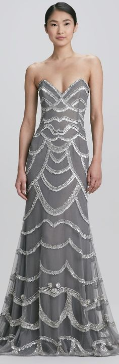♥DRESS me♥   Naeem Khan Beaded Strapless Gown $10880