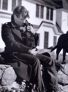 Viggo and a puppy.   <3