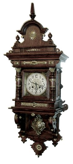 This represents that they think it is time that Dave Beckmann & I be married and the chosen date is saved! We are so happy! Mantel Clocks, Old Clocks, Upscale Furniture, Classic Furniture, Clock Art, Clock Decor, Antique Desk, Antique Clocks, Clock Repair
