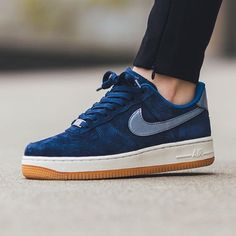 Nike Air Force 1 Suede Blue