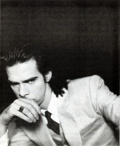 Nick Cave. This man has amazing stage presence and is the king of badasses, but after reading The Death of Bunny Munro, I will stick with his music, rather than his writing. Still, I love him.