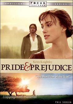 Pride & Prejudice (Fullscreen) (DVD 2005)   DVD Empire