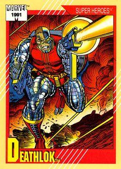 Marvel Universe Series II 016 Deathlok