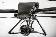 drone con flir A65, per rilievi termografici