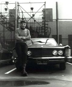 uou may think your cool.. But you'll never be #leonardnimoy leaning in a #buick cool !