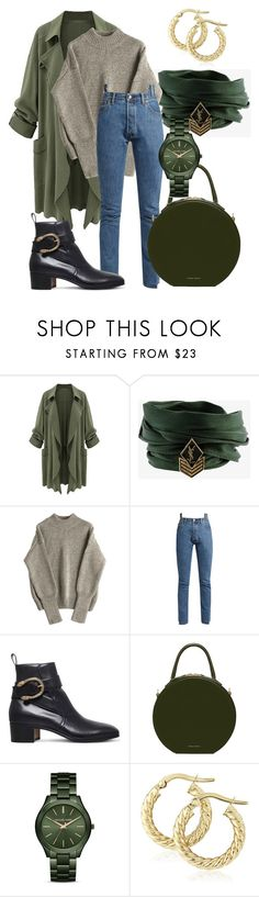 """Shine for you"" by didiiidia on Polyvore featuring Yves Saint Laurent, Vetements, Gucci and MICHAEL Michael Kors"