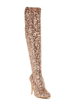 Ummmmmm I need these in my life! #sodisco  Steve Madden Nikita Sequin Over-the-Knee Boot by Steve Madden on @nordstrom_rack