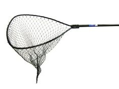 "Ranger 9930 Anodized Round-Handle ""Big Game"" Landing Net (48-Inch Handle, 34 x 32-Inch Hoop, 48-Inch Net Depth) - https://bassfishingmaniacs.com/?product=ranger-9930-anodized-round-handle-big-game-landing-net-48-inch-handle-34-x-32-inch-hoop-48-inch-net-depth"