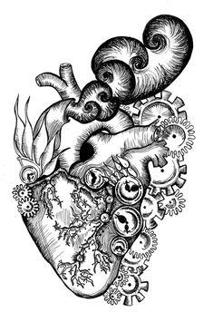 Steampunk Heart by AoiBunnyOnSakuraTree
